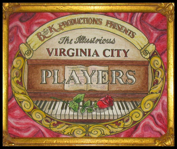 Virginia City Players Logo