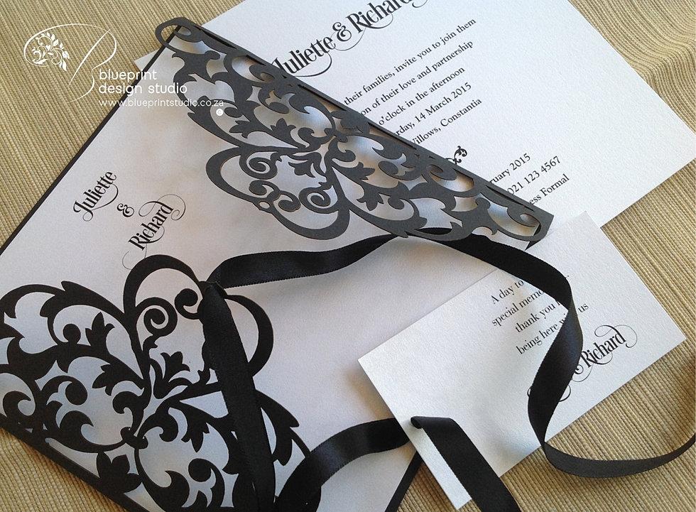 Blueprint design studio covers laser cut invitation cover malvernweather Images