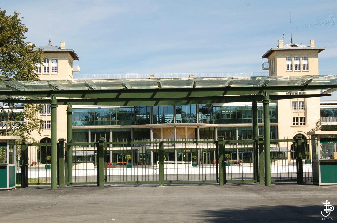 Didier lefort architectes associ s chantilly g tribunes - Architecte chantilly ...