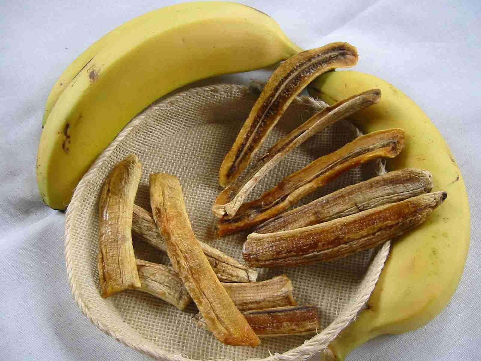 Plátano pancle, de la comida típica de Nayarit