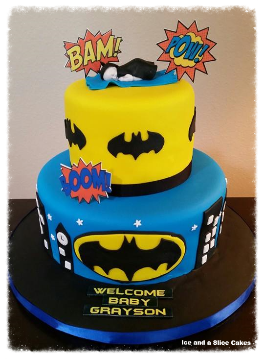 tampa birthday cakes tampa cupcakes tampa batman baby shower