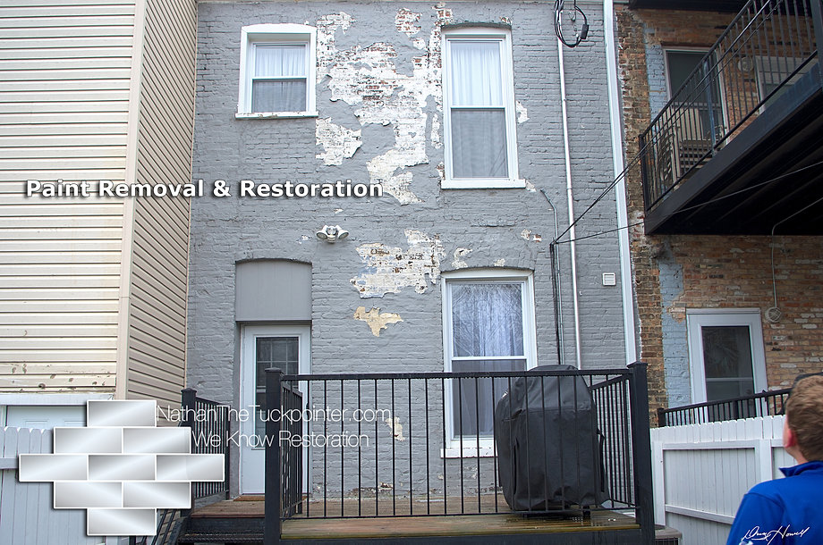 Case study exterior paint removal from brick jnd enterprises - Exterior paint removal from brick minimalist ...