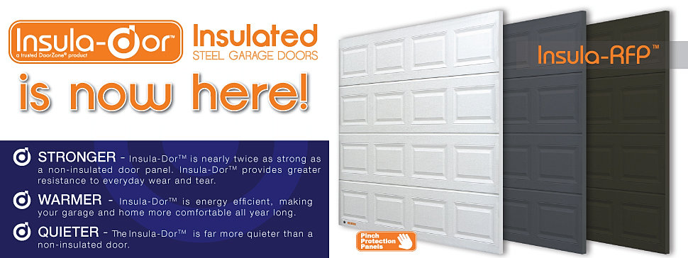 Doorzone garage door manufacturers for Door zone module