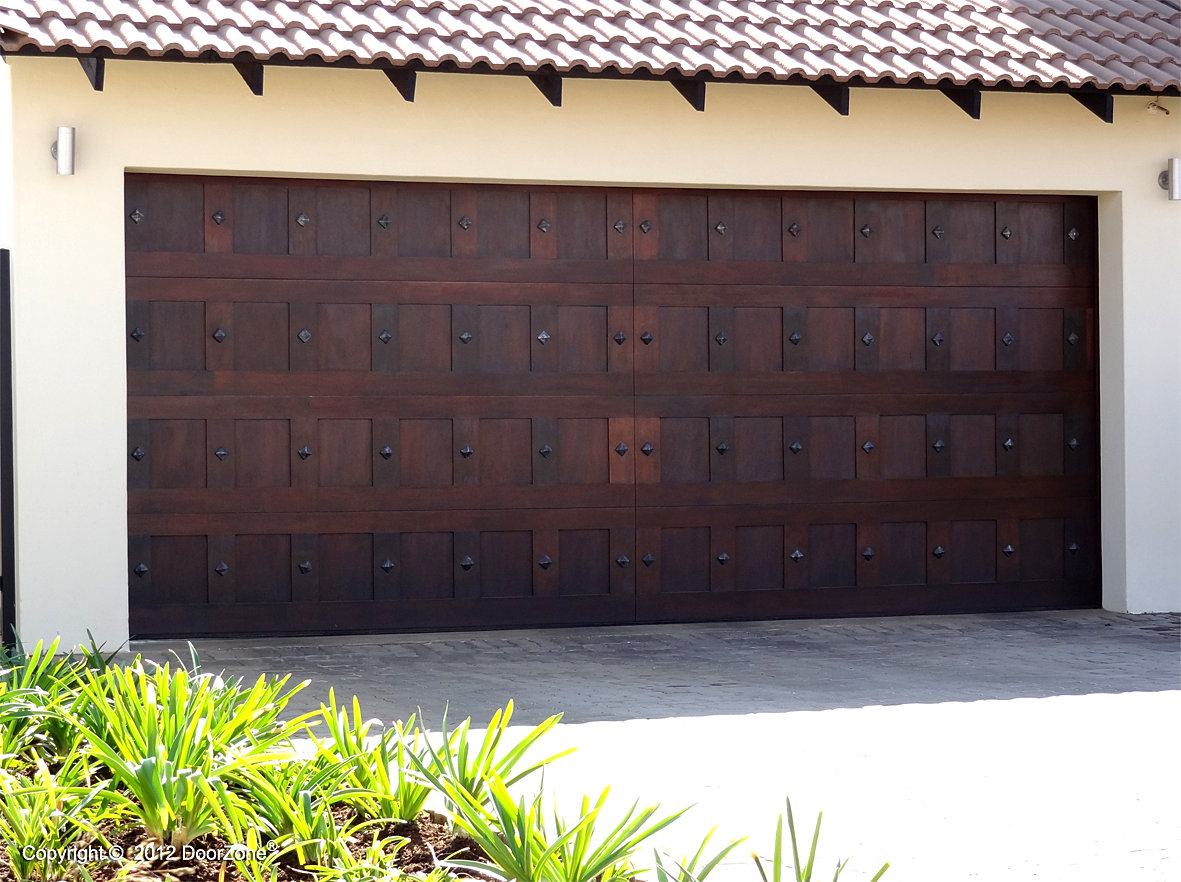 doorzone garage door manufacturers studded double