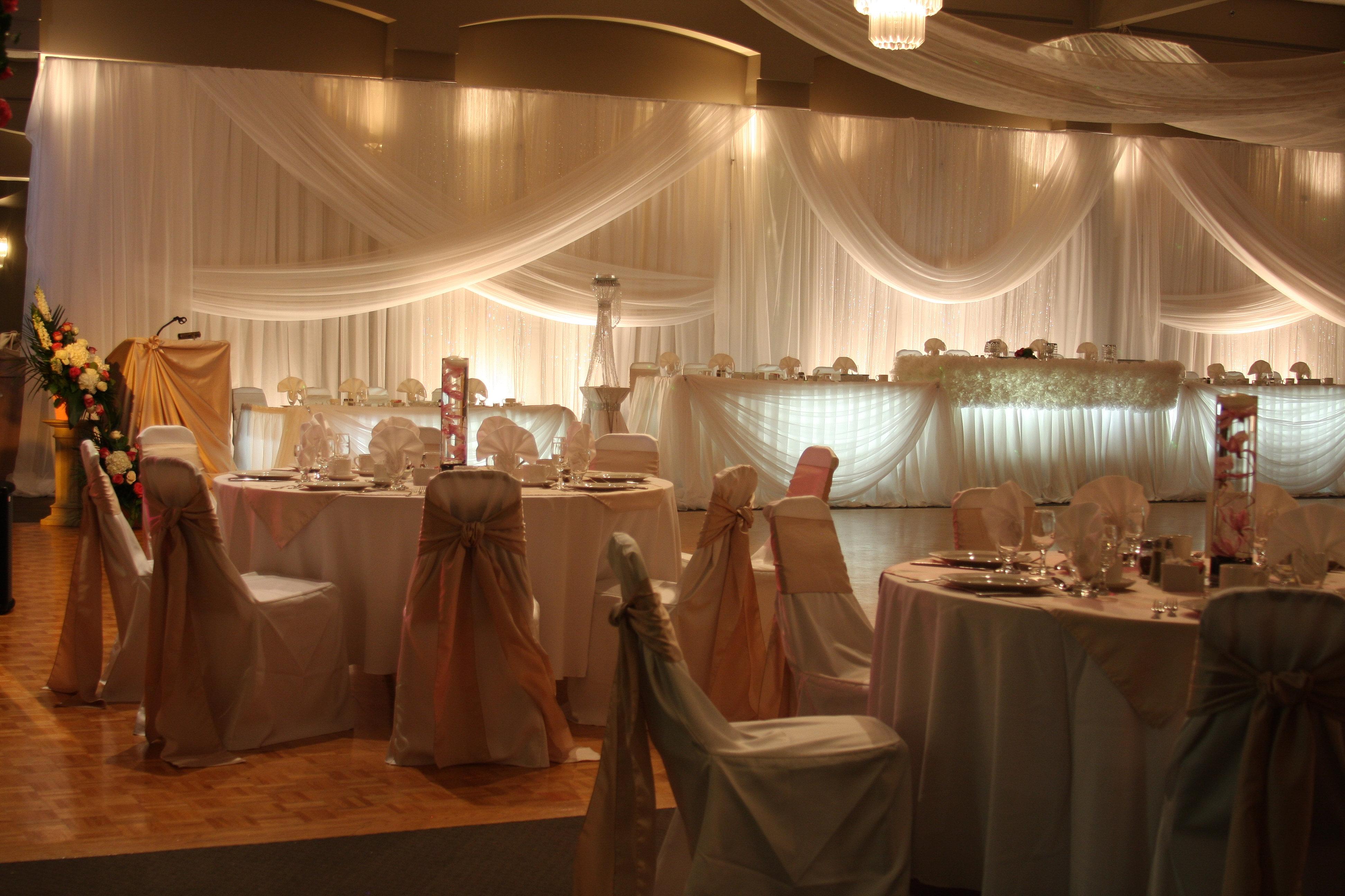 Niagara Wedding Decor Club Roma Gemini St Catharines