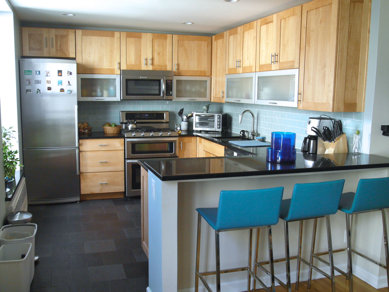 Arete indus pre cast concrete countertops home renovations and repairs - Partition kitchen dining ...