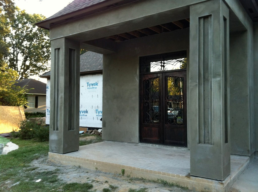 Omni enterprises of louisiana llc for Stucco columns