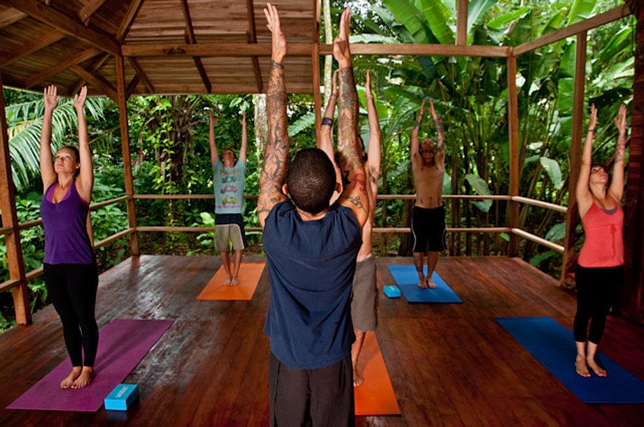 Yoga at Tierra
