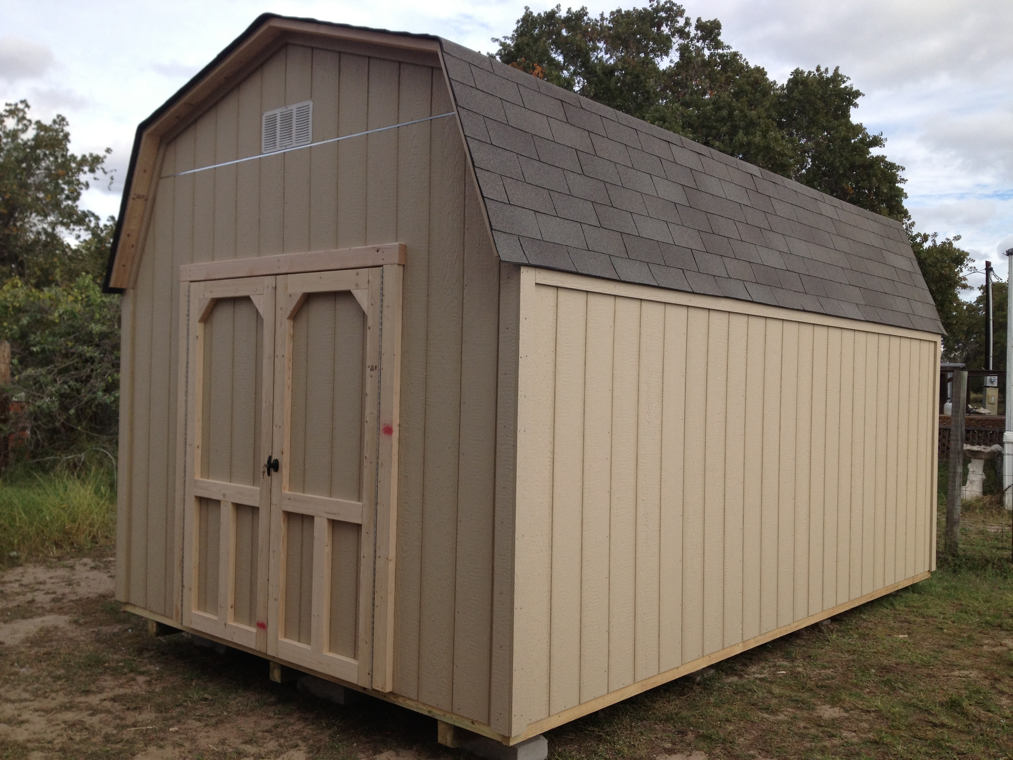 Backyard barns wood storage sheds san antonio texas for Sheds storage buildings