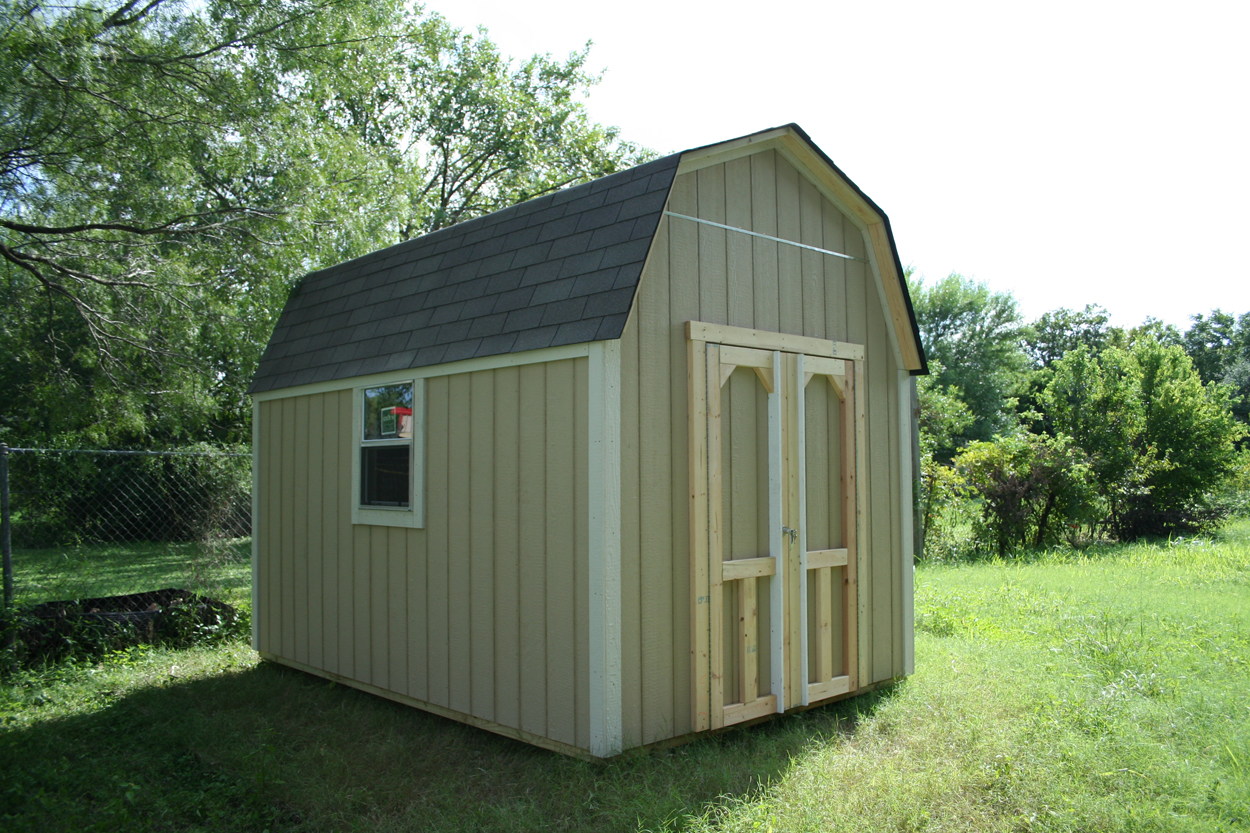 Backyard barns wood storage sheds san antonio texas for Sheds and barns