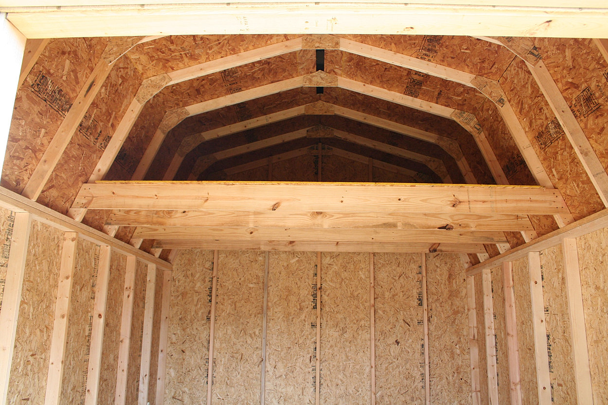 Storage shed with loft for Barn storage sheds with loft