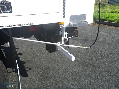 Hot asphalt truck for Meadowlark load board