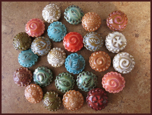 Starry Road Studio pie beads