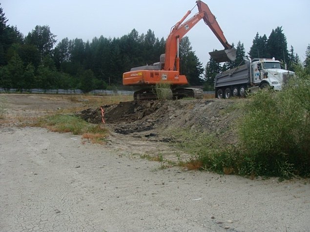 Clearcreek contractors dig and haul soil remediation for Utility of soil