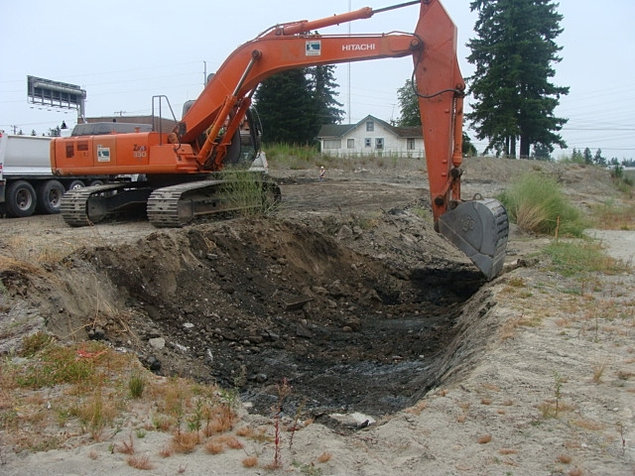 Clearcreek contractors dig and haul soil remediation for Soil remediation