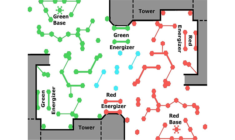 Qzar Laser Tag And Birthday Center Arena Map