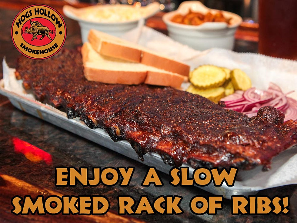 Slow Smoked Ribs