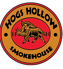 Hogs Hollow Smokehouse Halloween Logo