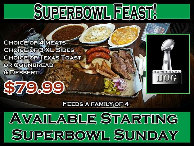 Superbowl Feast