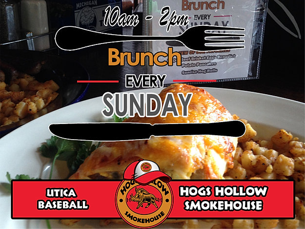 Brunch Every Sunday 10am - 2pm