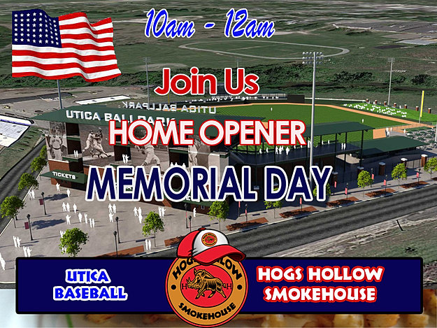 Join us Memorial Day!
