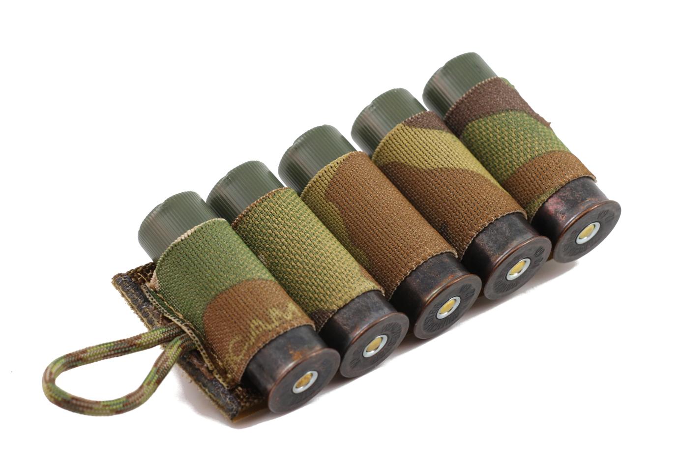 Esstac Shotgun Card-4rd 5rd 6rd or 7rd-Multicam-Coyote-Olive Drab-Black