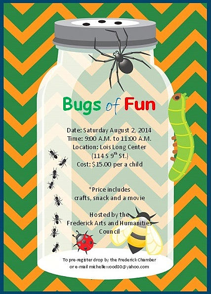 Bugs of Fun @ Lois Long Center | Frederick | Oklahoma | United States