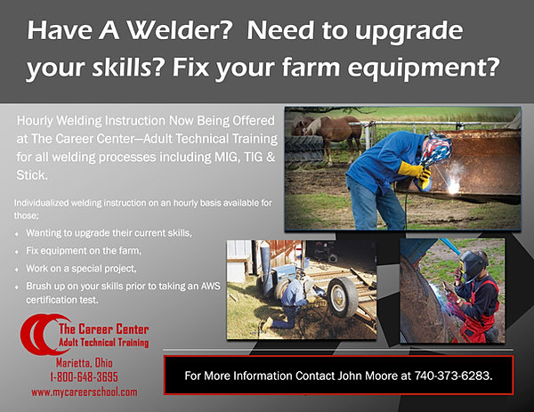 The Career Center - Adult Technical Training | Hourly Welding ...