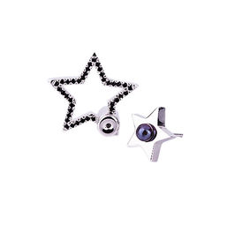 Gold Philosophy: Black Smoke Earrings | Jewelry,Jewelry > Earrings -  Hiphunters Shop