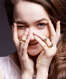 Gold Philosophy: MILKY WAY RING | Jewelry,Jewelry > Rings -  Hiphunters Shop