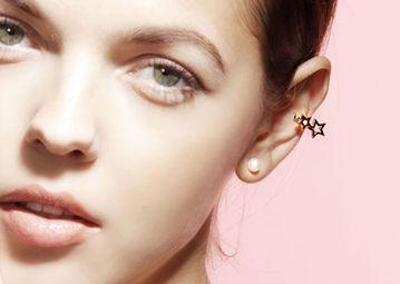 Gold Philosophy: Starry Night Ear Cuff | Jewelry,Jewelry > Earrings -  Hiphunters Shop