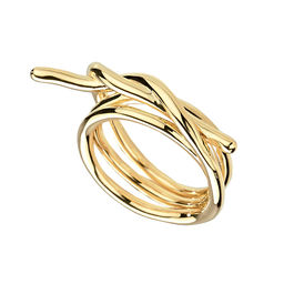 Gold Philosophy: DOUBLE - FIL - TWIST RING | Jewelry,Jewelry > Rings -  Hiphunters Shop