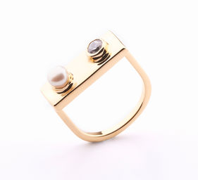 Gold Philosophy: LEGO PEARL RING | Jewelry,Jewelry > Rings -  Hiphunters Shop