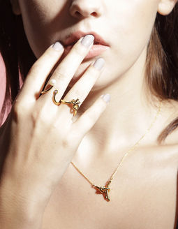 Gold Philosophy: TIE - FIL RING | Jewelry,Jewelry > Rings -  Hiphunters Shop