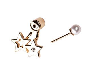 Gold Philosophy: STARS EAR JACKET   Jewelry,Jewelry > Earrings -  Hiphunters Shop