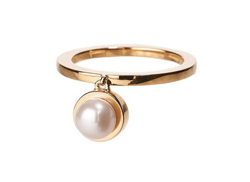 Gold Philosophy: PEARL CHARM RING | Jewelry,Jewelry > Rings -  Hiphunters Shop