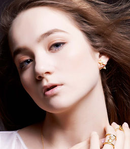 Gold Philosophy: TWINKLE STAR EARRINGS | Jewelry,Jewelry > Earrings -  Hiphunters Shop