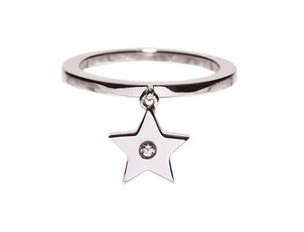 Gold Philosophy: STAR CHARM RING | Jewelry,Jewelry > Rings -  Hiphunters Shop