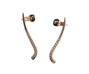 Gold Philosophy: CRESCENT EAR CUFF - Hiphunters Shop