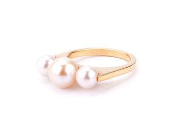 Gold Philosophy: PEARL RIPPLES RING | Jewelry,Jewelry > Rings -  Hiphunters Shop