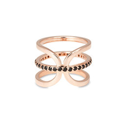 Gold Philosophy: Jumelle Onyx Ring   Jewelry,Jewelry > Rings -  Hiphunters Shop