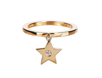Gold Philosophy: STAR CHARM RING - Hiphunters Shop