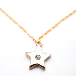 Gold Philosophy: STAR CHARM NECKLACE | Jewelry,Jewelry > Necklaces -  Hiphunters Shop