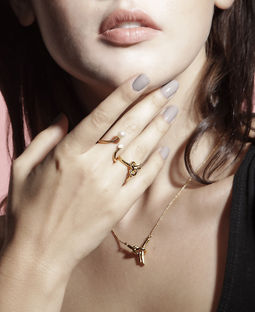 Gold Philosophy: GOLDEN - FIL RING | Jewelry,Jewelry > Rings -  Hiphunters Shop