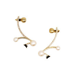 Gold Philosophy: Clara Ear Crawlers | Jewelry,Jewelry > Earrings -  Hiphunters Shop