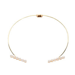 Gold Philosophy: Delphine Collar | Jewelry,Jewelry > Necklaces -  Hiphunters Shop
