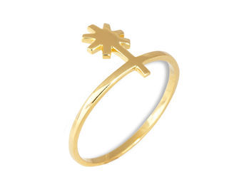 Gold Philosophy: Juno Knuckle Ring | Jewelry,Jewelry > Rings -  Hiphunters Shop