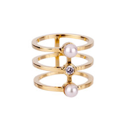 Gold Philosophy: Twin Coil Ring | Jewelry,Jewelry > Rings -  Hiphunters Shop