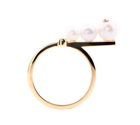 Gold Philosophy: PEARL WAND RING | Jewelry,Jewelry > Rings -  Hiphunters Shop