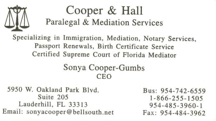 Uwalla the worlds leading business card directory bwd lauderhill cooper hall colourmoves